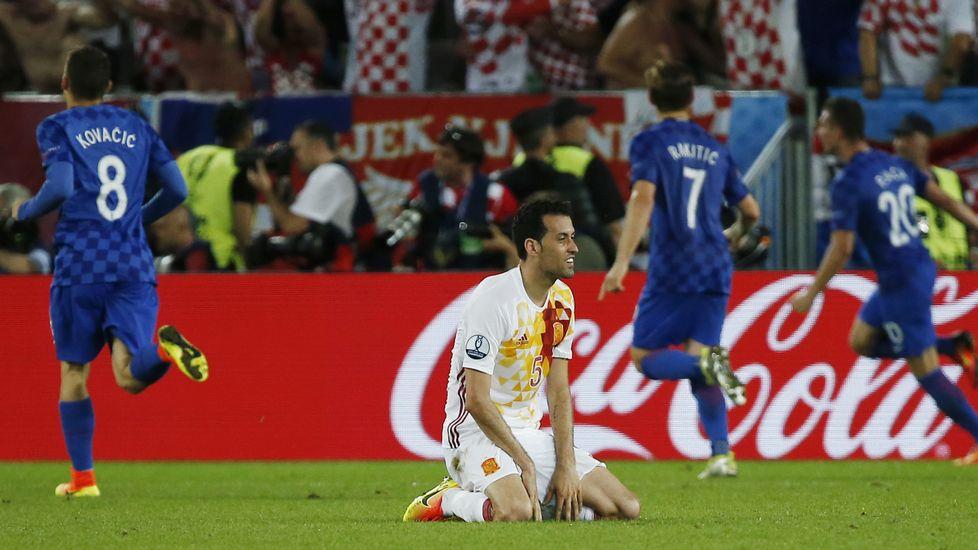 España se complica el camino hacia la final