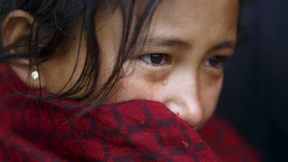 Una niña de Nepal de 15 años