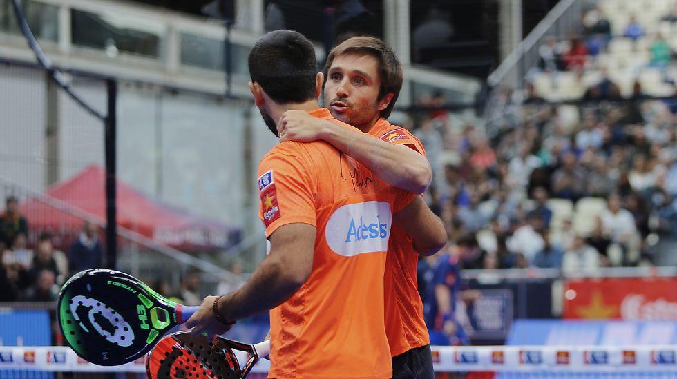 Belasteguín y Lima ganan a la tercera